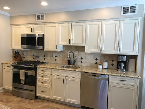 If you could use some help installing kitchen cabinets in Bohemia, NY, give us a call